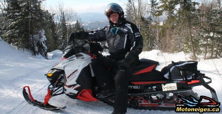 Lanaudière - le pays de la motoneige