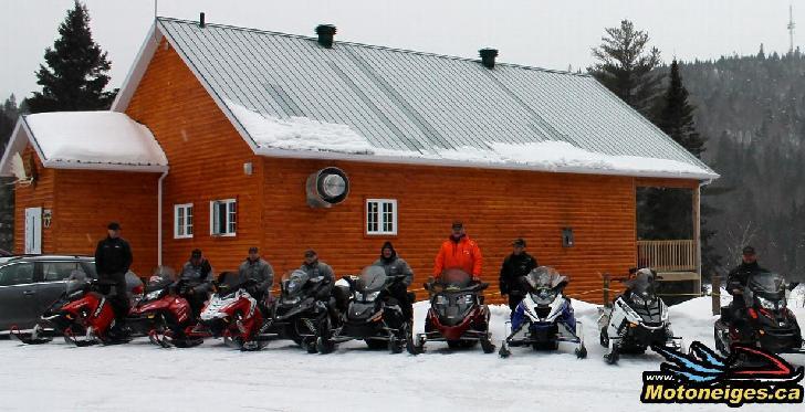 Des vacances d'hiver ou un arrêt à la Pourvoirie Tadoussac