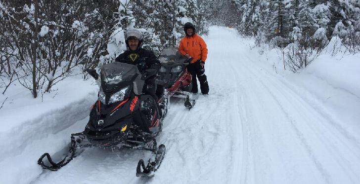 Saguenay-Lac-Saint-Jean : la motoneige devient un mode de vie en hiver