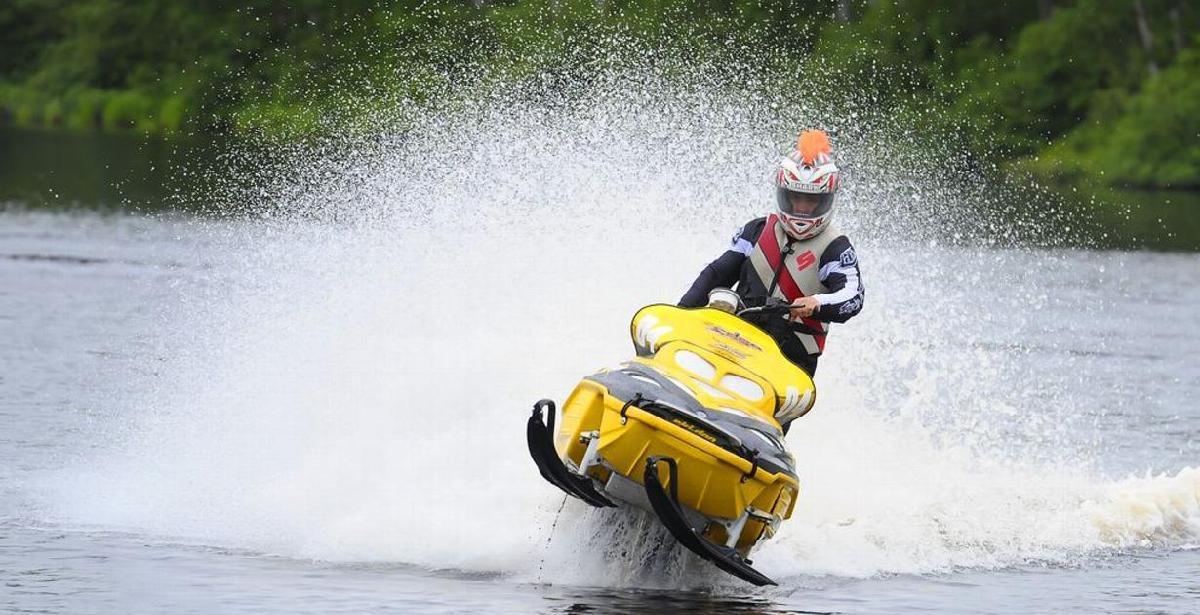 Les motoneiges sur l'eau seront de retour