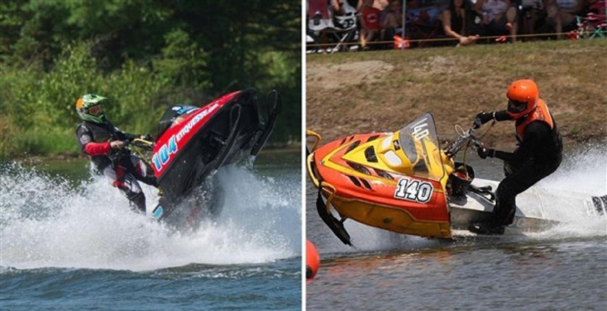 Des pilotes de la région prendront part à la grande finale du Championnat nord-américain de motoneiges sur l'eau