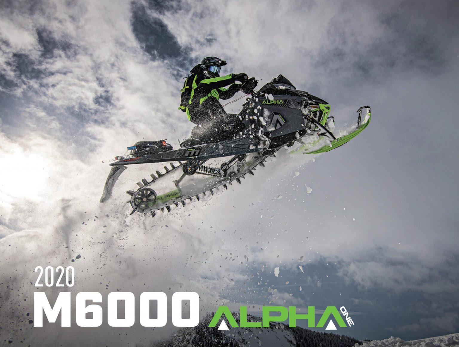 La M6000 Alpha One fait son apparition surprise dès 2020