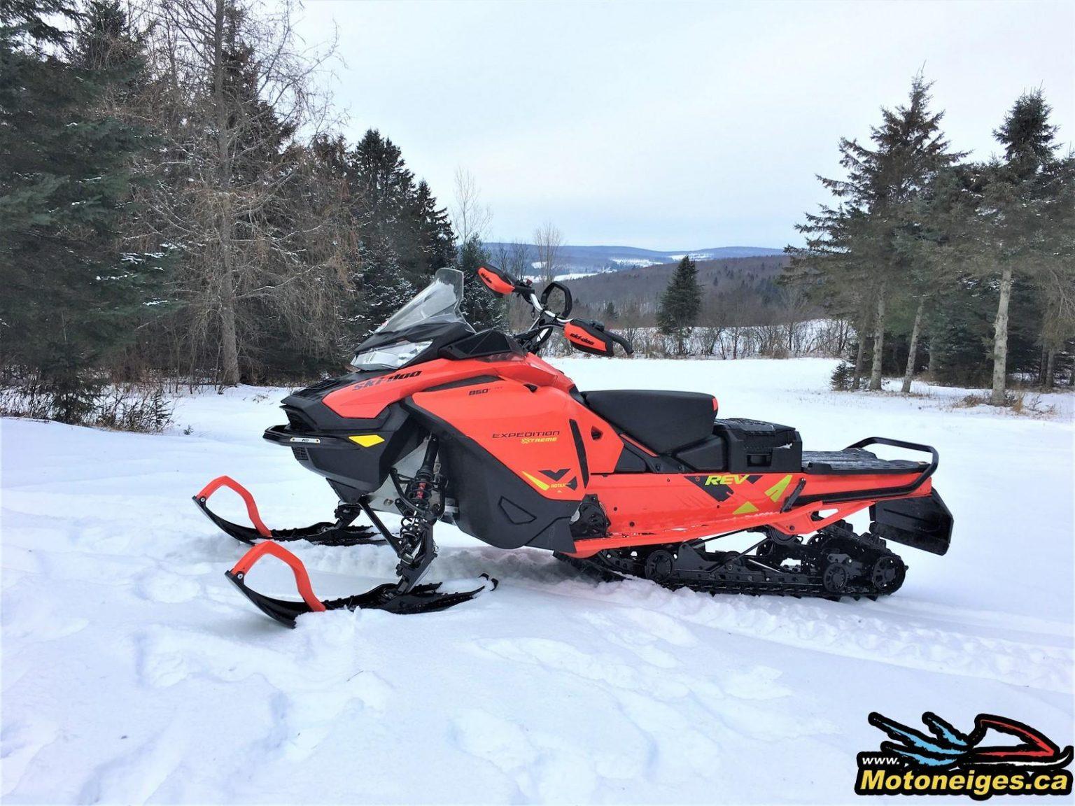 Ski-Doo Expedition Xtreme 2020 – Prise de possession