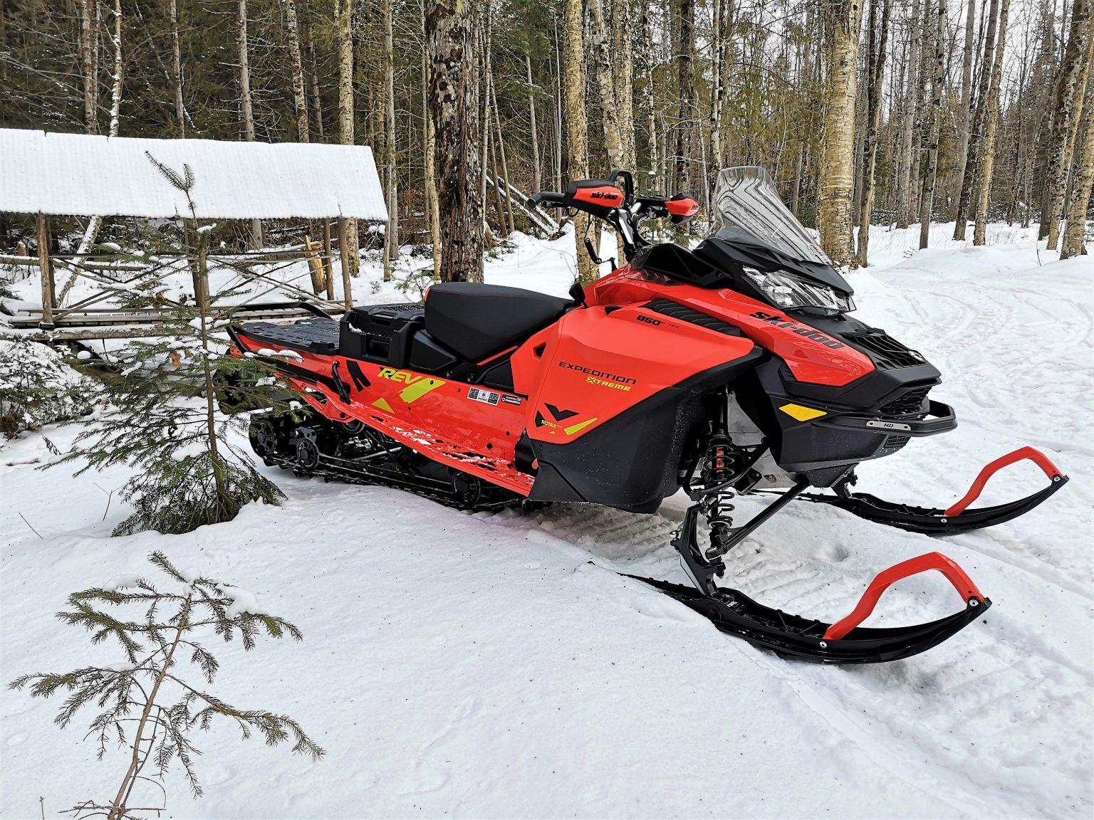Ski-Doo Expedition Xtreme 2020 - Analyse pré-randonnée