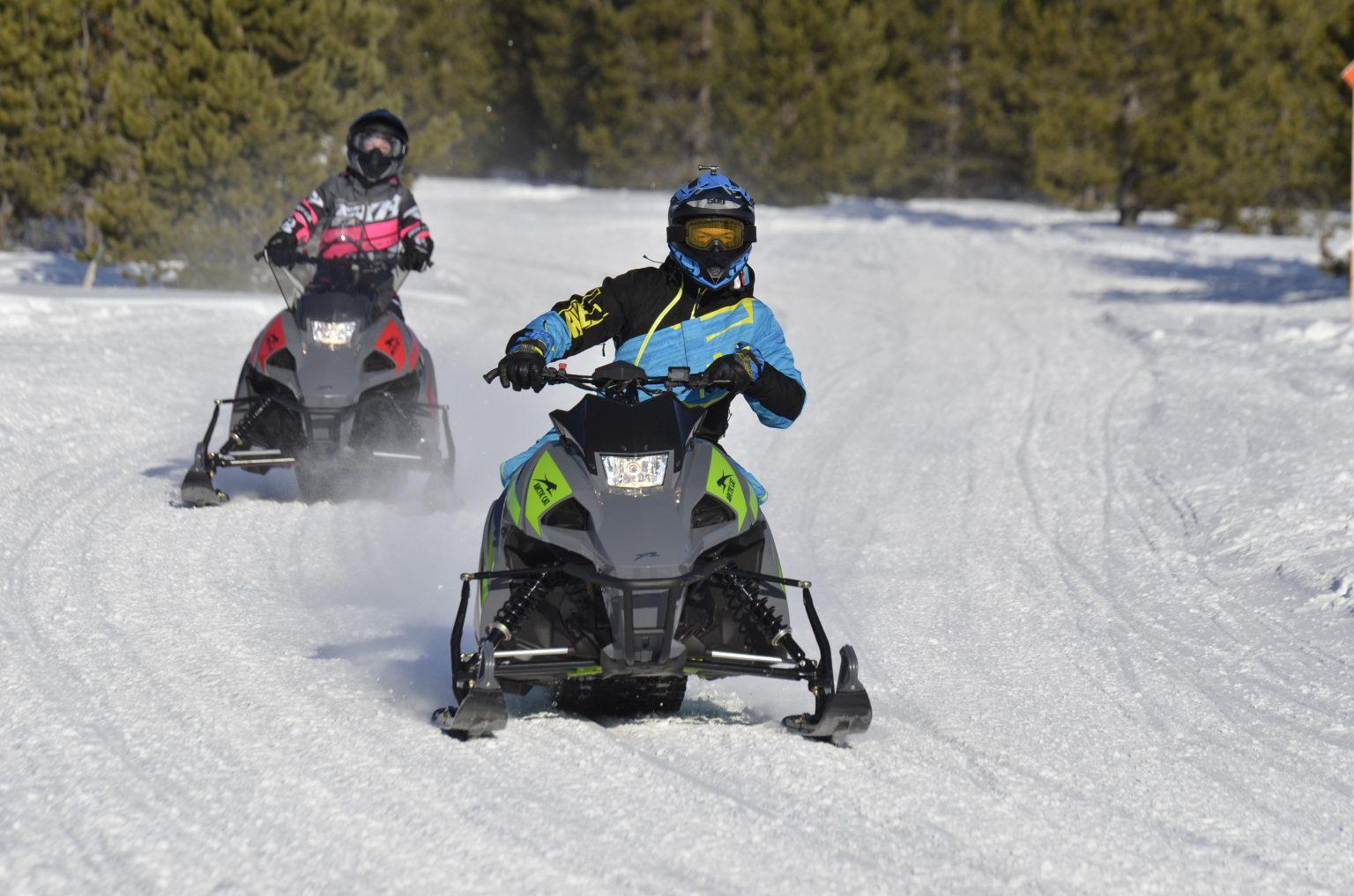 Faire passer l'âge minimal pour conduire une motoneige au Québec de 16 ans à 14 ans