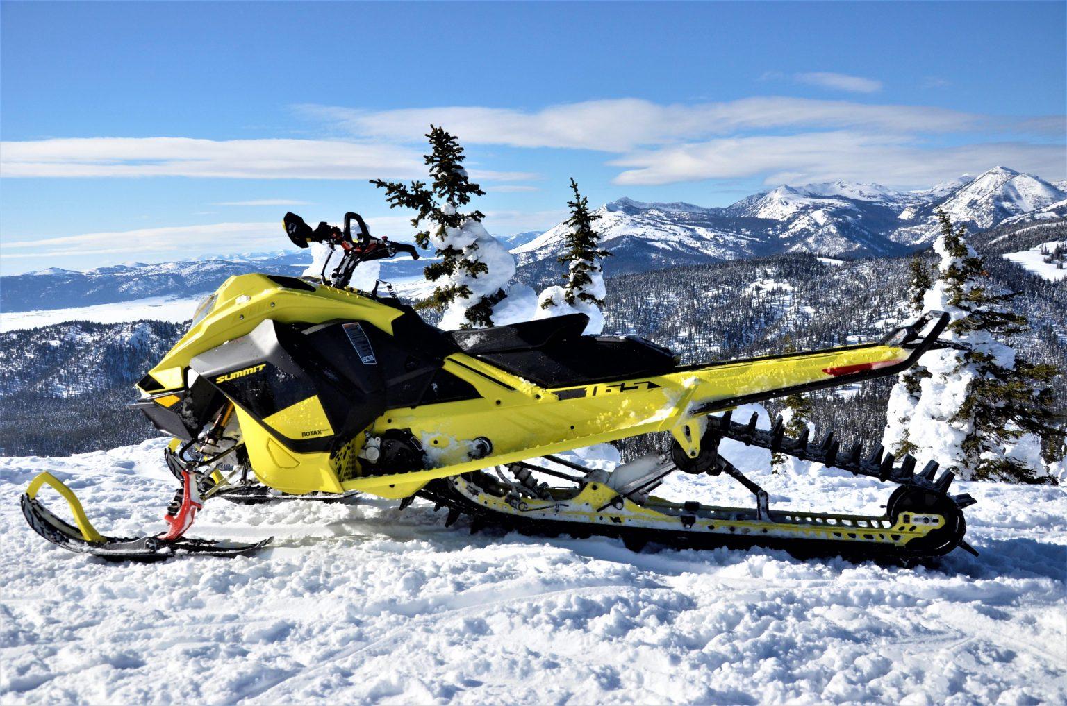 Ski-Doo Summit 850 E-TEC Turbo 2020 : Du Québec au Montana