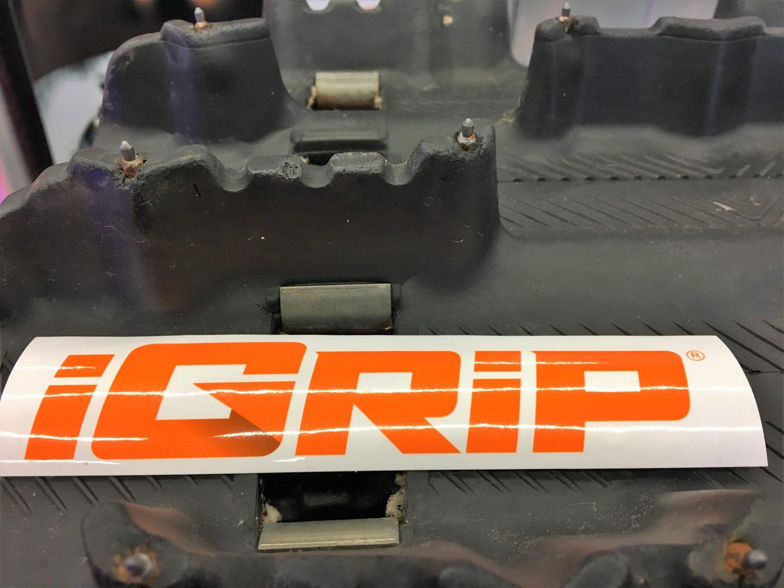 Un rebuilt signé Motoneiges.ca - Partie 8 : iGrip pour une sécurité accrue