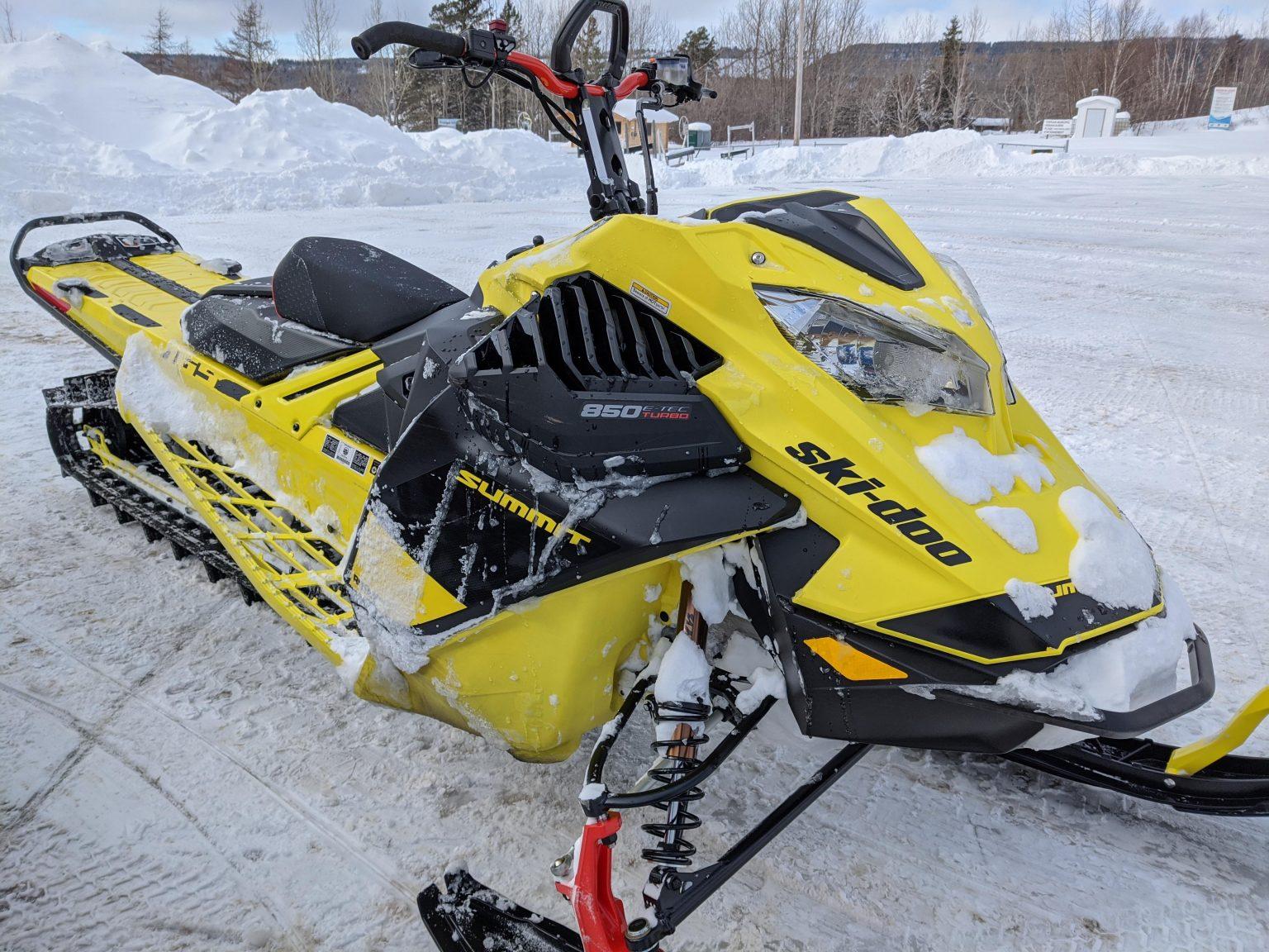 Essai du Ski-Doo Summit 850 E-TEC Turbo