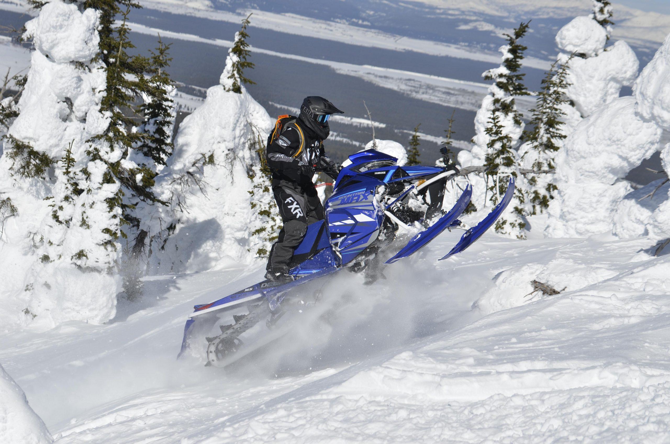 Yamaha Mountain Max 154 2021 - Analyse pré-randonnée