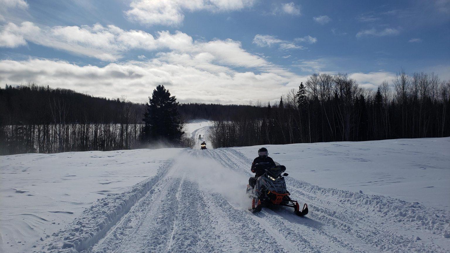 Conditions de sentier de motoneige du 8 janvier 2021
