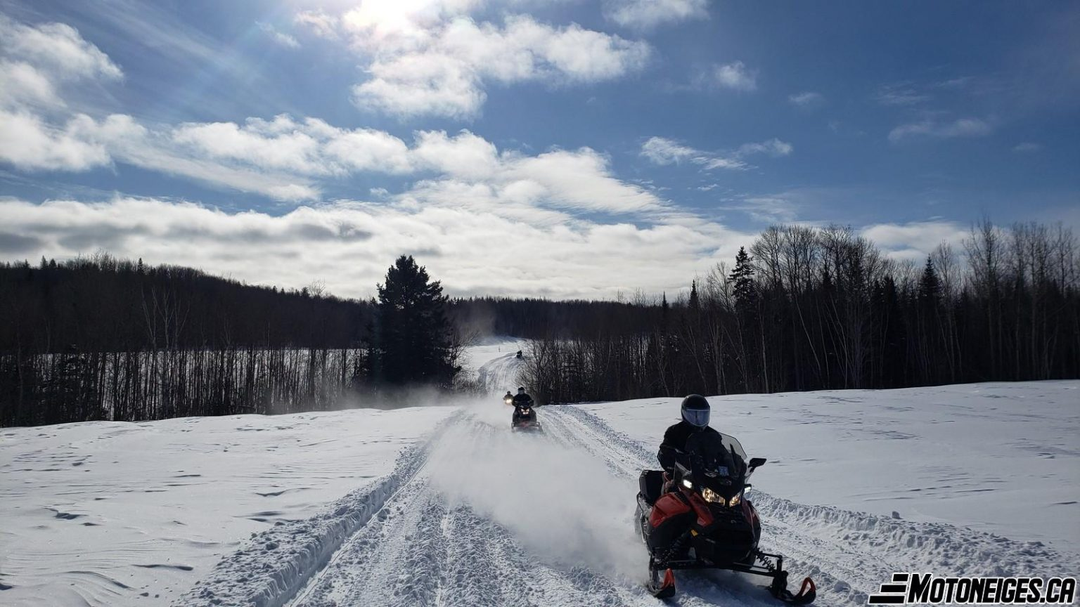 Le vrai début de la saison de motoneige pour le weekend !
