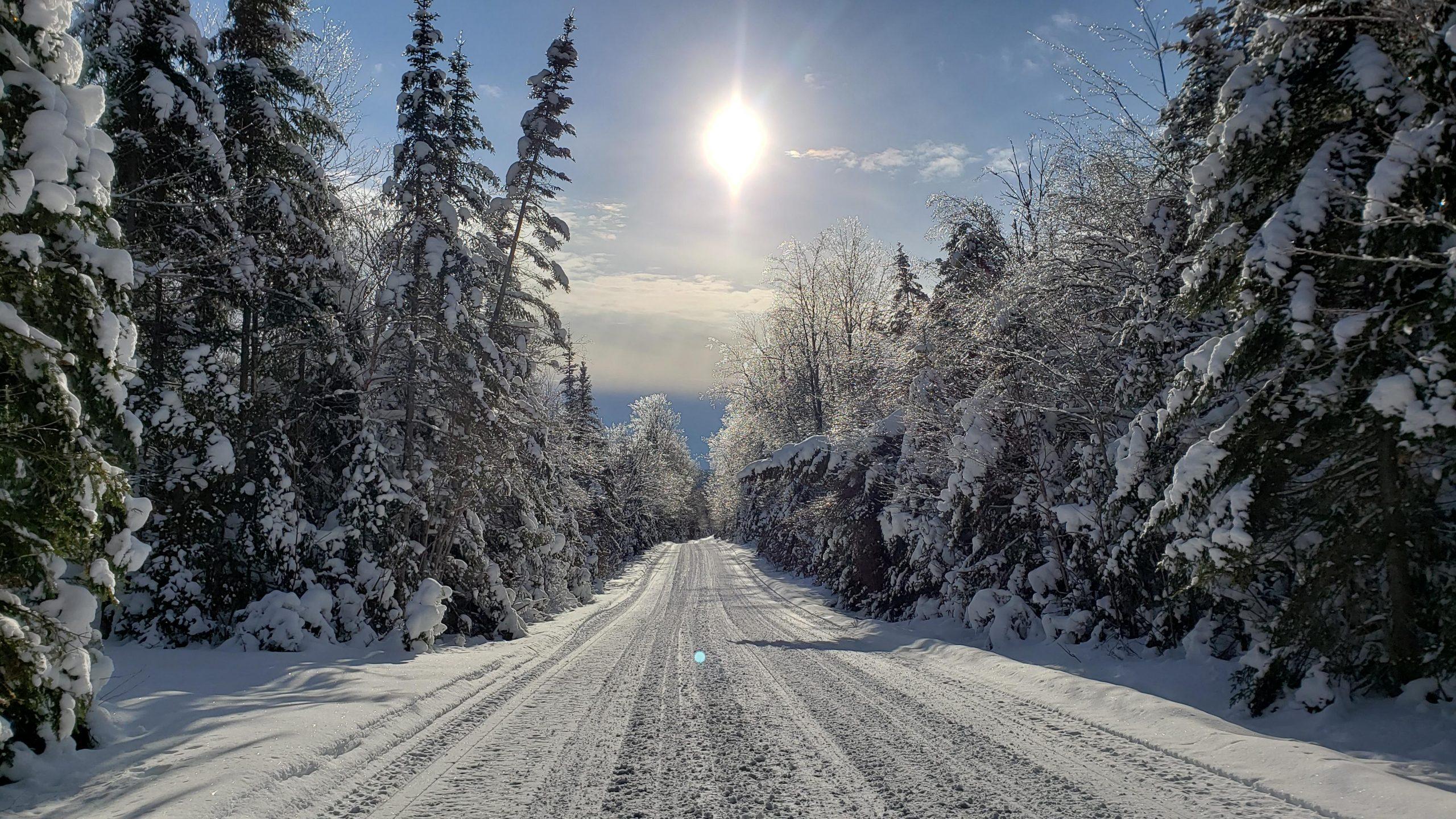 Conditions de sentier de motoneige du 22 janvier 2021