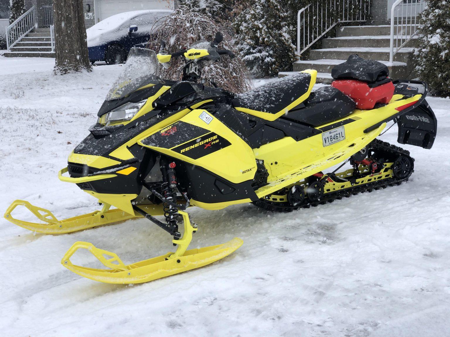 Ski-Doo Renegade X-RS 850 E-TEC 2021 – Analyse pré-randonnée