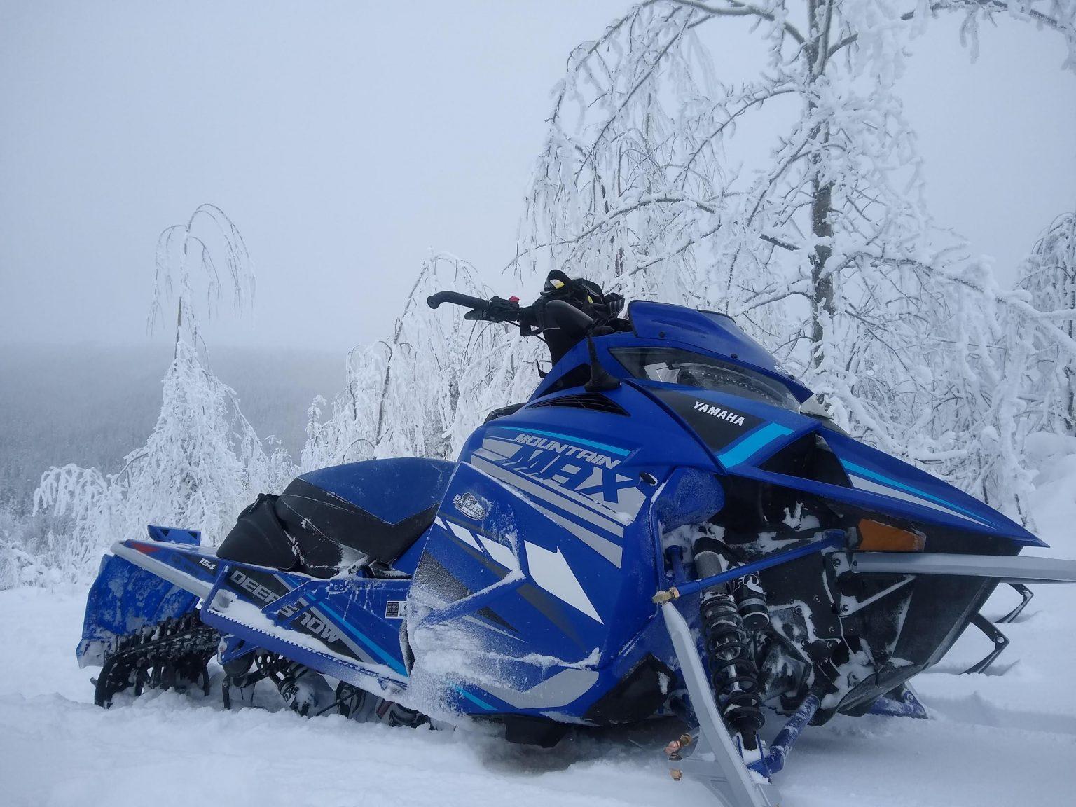 Annonce de l'essai de la Yamaha Mountain Max 2021