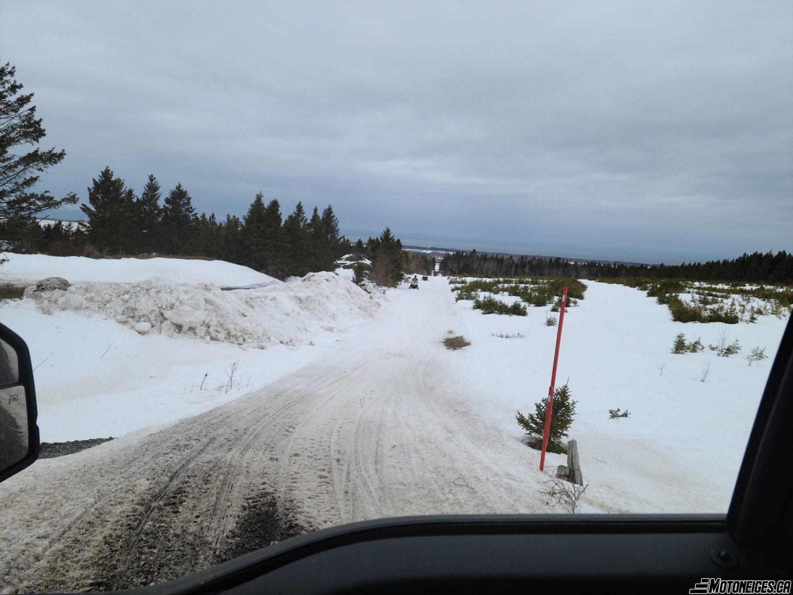 Conditions de sentier de motoneige du 12 mars 2021 (Midi)