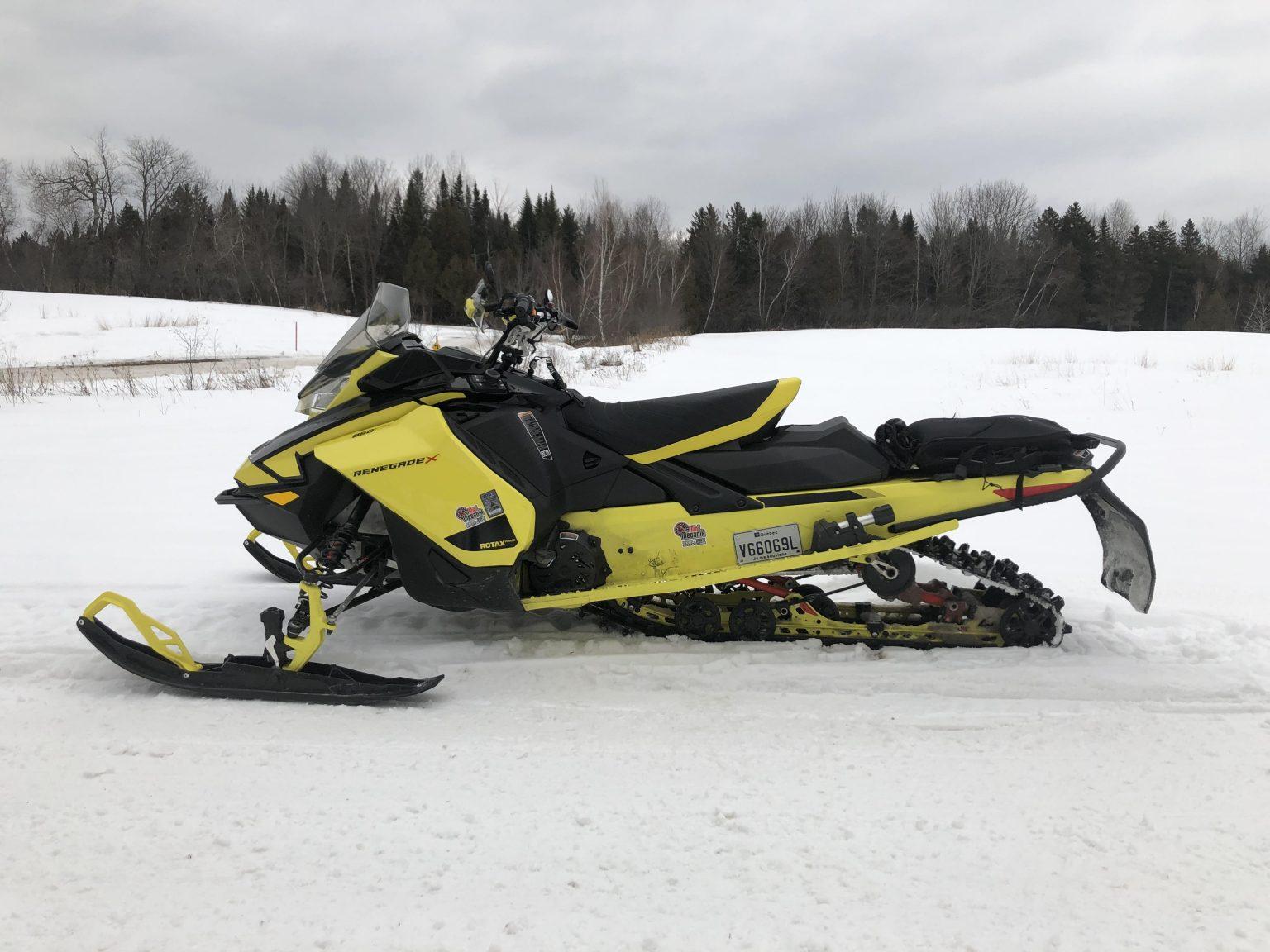 Essai de la Ski-Doo Renegade X 850 2021