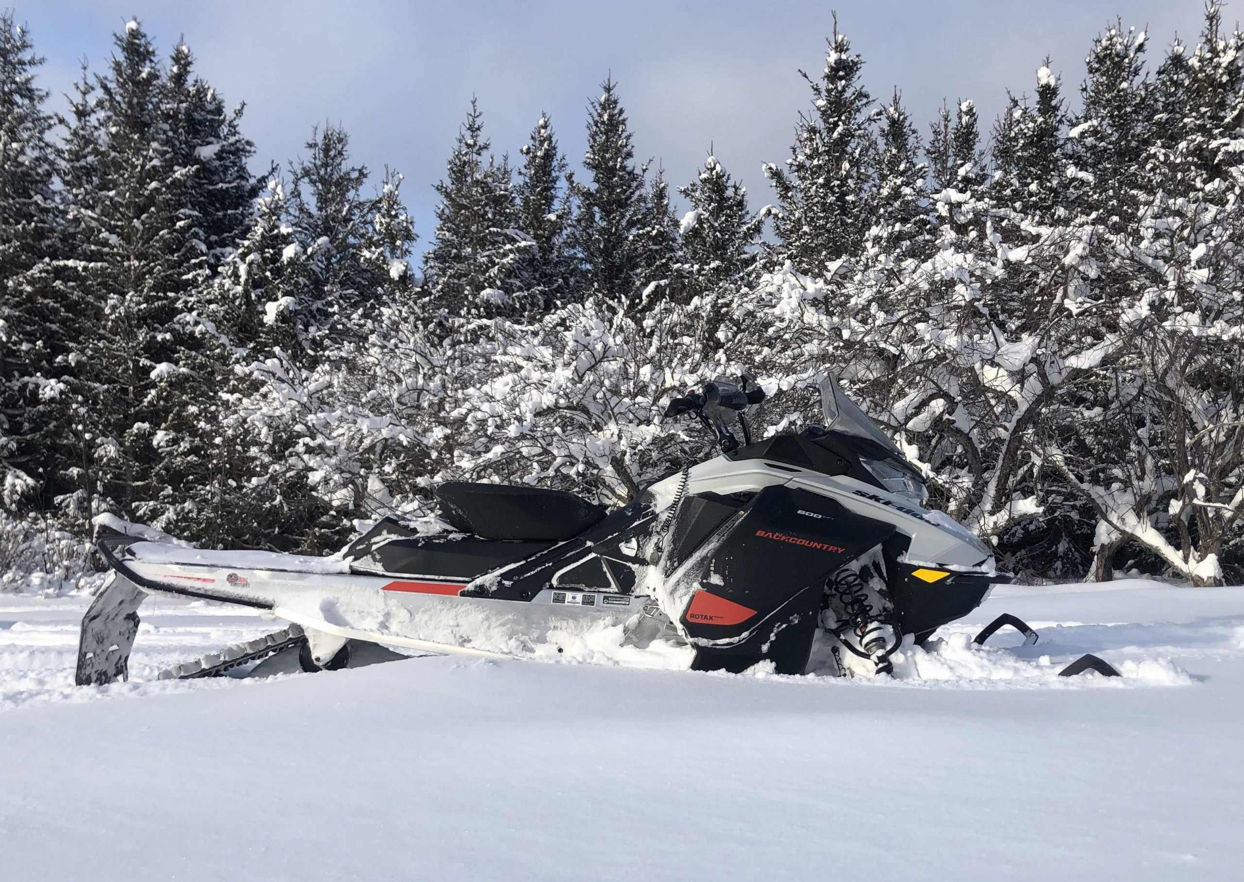Bilan d'essai de la Ski-Doo Backcountry Sport 600 EFI 2021