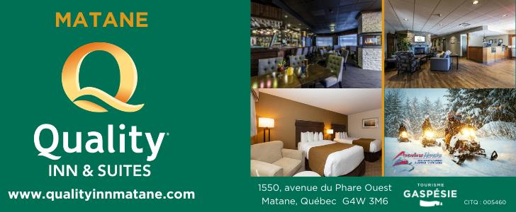 Quality Inn Matane - Motoneige