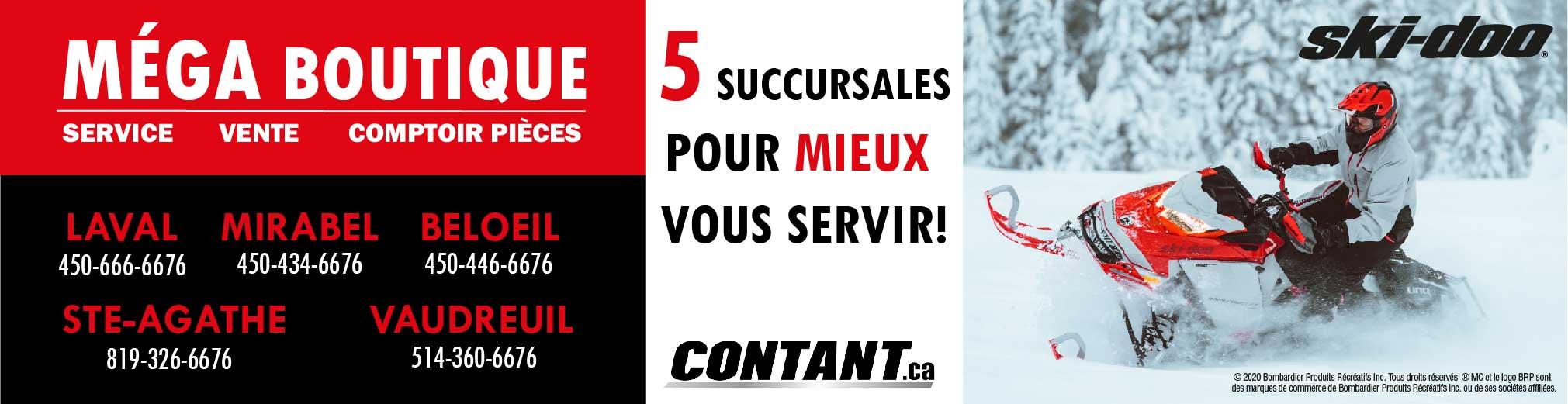 Groupe Contant - Motoneige