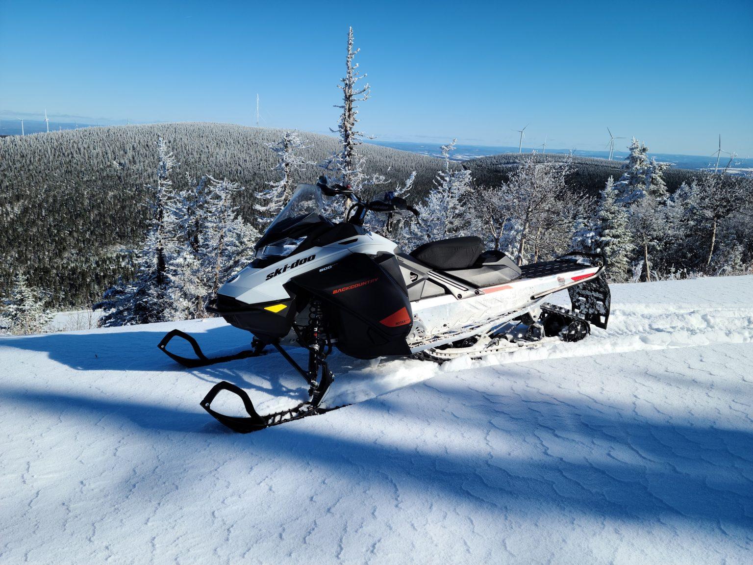Ski-Doo Backcountry Sport 600 EFI 2021