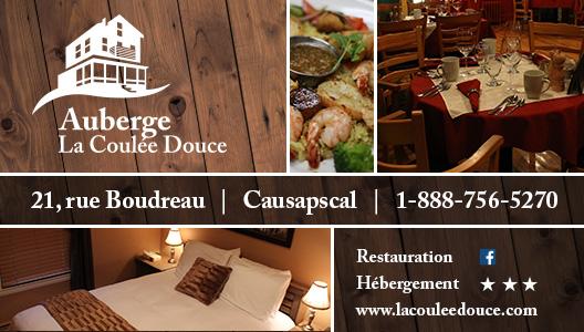Auberge La Coulée Douce - Motoneige